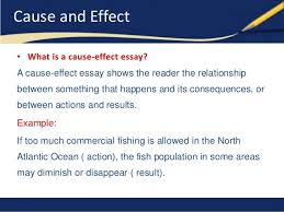 sample of cause and effect essay cause and effect essays  example of cause effect essay elca