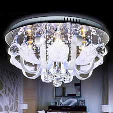 the new listing round ceiling lights crystal lamps bedroom modern minimalist fashion artistic led lighting fixtures buy lighting fixtures