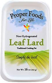 Proper Food's - 100% Pure Leaf Lard - Non ... - Amazon.com