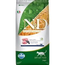 <b>Сухой корм</b> для кошек <b>FARMINA N&D</b> Cat Lamb & Blueberry Adult ...