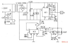 electric fan anti injured controller   control circuit   circuit    electric fan anti injured controller