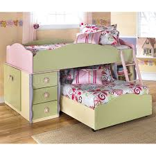 doll house twin over twin loft bed ashley unique furniture bunk beds