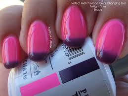 Image result for perfect match mood changing gel nail polish images