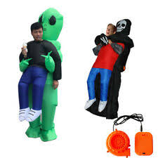 <b>Inflatable</b> Costume <b>Alien</b> Unisex Fancy Dress for sale | eBay
