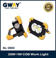 Portable Floodlights Dual <b>COB LEDs</b> Handy Work Lights Flood ...