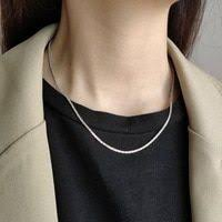 2pcs/lot 2019 Simple <b>s925 Sterling</b> Silver Water Drop Clavicle ...
