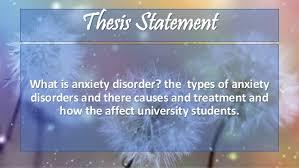 Anxiety Disorder SlideShare