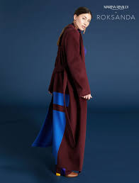 <b>Double</b>-<b>sided cashmere</b> coat, bordeaux - Marina Rinaldi