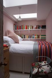 this tiny bedroom is painted in pink farrow ball paint explore our small spaces bedroom small bedroom ideas