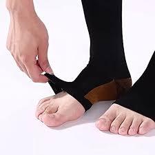 EWRGG 2 Pair <b>Zipper Compression Socks</b> Medical Toeless Easy on ...