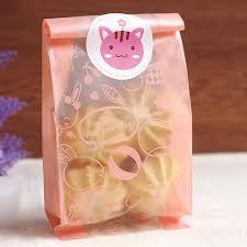 <b>50pcs</b>/<b>lot cute rabbit</b> adhesive bag cookies diy Gift Bags for ...
