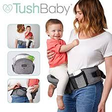 TushBaby The Only Safety Certified Hip Seat <b>Baby Carrier</b> - As Seen