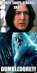 Snape and Dumbledore - WeKnowMemes Generator via Relatably.com