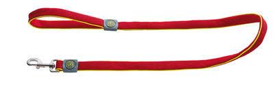 <b>Hunter поводок</b> для собак <b>Maui</b>, сетчатый текстиль, красный