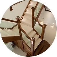 bespoke glass staircases bespoke glass staircase