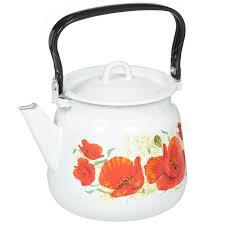<b>Чайник эмалированный Сибирские товары</b> С2716*59/*67, 3.5, л ...