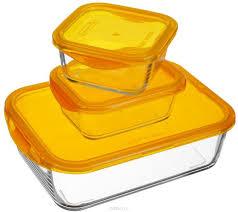 <b>Набор пищевых контейнеров</b> Luminarc Keep'n'Box <b>3</b> пр. J5102 ...