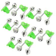 10 pcs green spring loaded