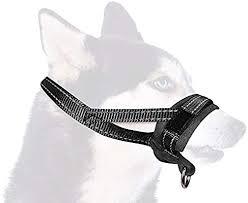 SlowTon <b>Nylon</b> Dog Muzzle, Adjustable Loop, <b>Soft</b> flannel Padding ...