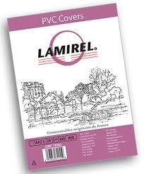 <b>Lamirel</b> LA-78781 <b>Transparent</b> A4, Red <b>обложка</b> для переплета ...