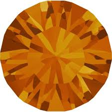<b>Swarovski</b> 1028 XILION Chaton Tangerine PP13