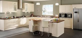 gloss contemporary cream shaker style kitchen create a contemporary yet warm and inviting setting with high gloss po