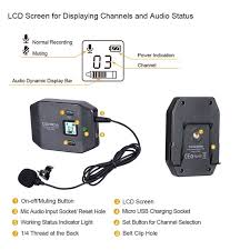 <b>Comica COMICA CVM</b>-<b>WS50</b>(A) <b>6</b>-Channel <b>UHF</b> Wireless ...