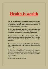 sa on health is wealth essay   homework for you  words essay on health is wealth speech