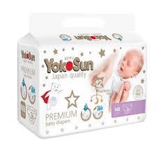 <b>Подгузники YokoSun Premium NB</b> (0-5кг), 36шт. - купите по ...