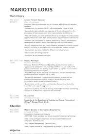 senior product manager resume samples visualcv resume samples senior product manager resume junior product manager resume