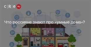 Что россияне знают про «умные дома»? - CRE