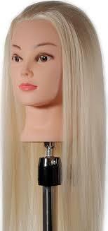 <b>Голова</b> манекен для <b>причесок</b>. Блондинка, FANTOM 55 см ...