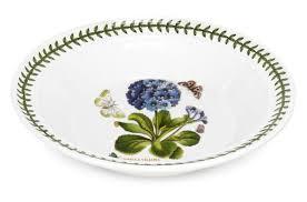 """<b>Набор тарелок суповых</b> Portmeirion """"Ботанический сад.Примула ..."""