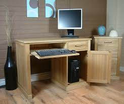 baumhaus mobel oak single pedestal computer mobel oak single pedestal computer desk baumhaus mobel solid oak extra