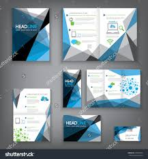 design abstract vector brochure template flyer stock vector design abstract vector brochure template flyer layout flat style infographic elements in a3