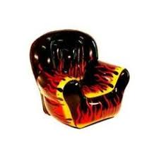 inflatable furniture high back flame blow up chair blowup furniture