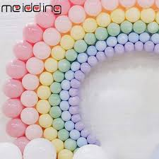 <b>MEIDDING</b> 100pcs 12inch Macaron Latex Balloons Wedding ...