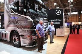 used mercedes benz actros attracts crowds at cv show commercial used mercedes benz actros attracts crowds at cv show