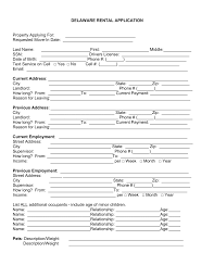 delaware rental application template word pdf eforms delaware rental application template word pdf eforms fillable forms
