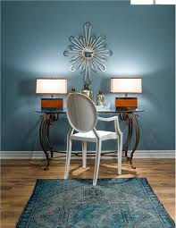larger open transitional home office by jane lockhart blue home offices