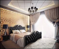 bedroom master ideas budget: master bedroom with black bedding decorating ideas on a budget
