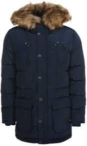 <b>Куртка мужская</b> Mustang <b>Padded</b> Parka, цвет: темно-синий ...