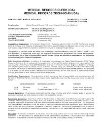 medical records clerk resume examples resume examples  records