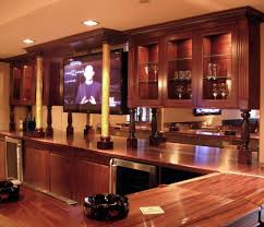 custom built in home bars built home bar cabinets tv