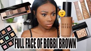 SO.... I TRIED A <b>FULL</b> FACE OF <b>BOBBI BROWN</b> - YouTube