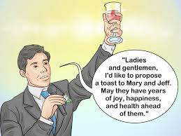 how to write a speech sample speeches wikihow write a best man s speech
