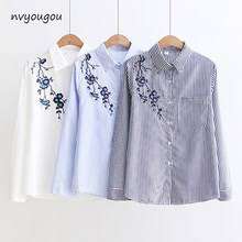 Best value 2018 <b>Floral Embroidery</b> Blouse Shirt – Great deals on ...