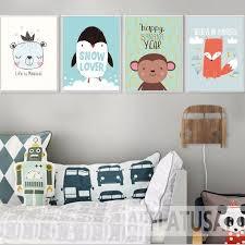 Nursery art / decor - Canvas painting / Poster print - <b>Kawaii Animals</b>