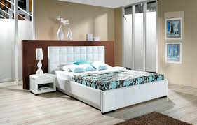 l the best modern master bedroom furniture ideas for teen girls of the looks stylish white upholstery leather queen beds with squares accent headboard and best modern bedroom furniture