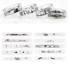 DIY материал для наполнения кольца из смолы, силиконовая ...